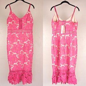NWT Crochet Dress {Gianni Bini}
